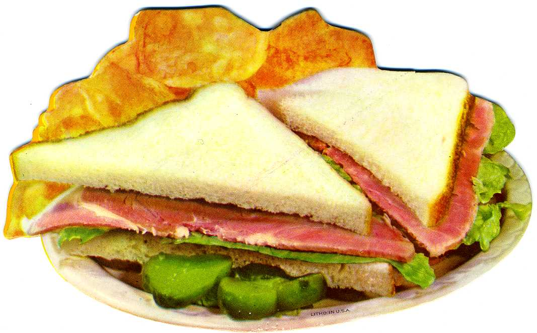 Cold Ham sandwich