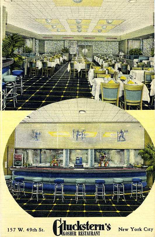 Eating Kosher Restaurant Ing Through History