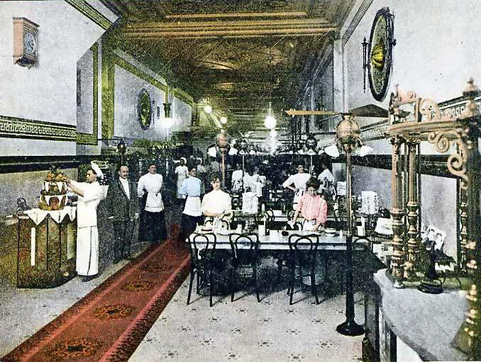 Taste Of A Decade Restaurants 1900 1910 Restaurant Ing
