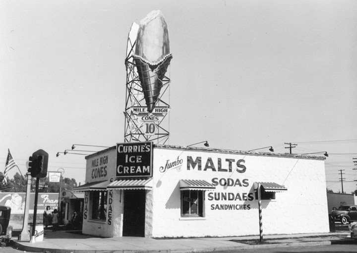 Ice cream parlors Restaurant-ing through history