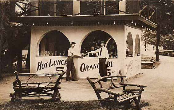 Fast Food Restaurant Ing Through History