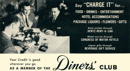 Charge it! | Restaurant-ing through history  Charge it! | Re...