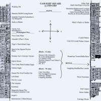Gaslight Square map