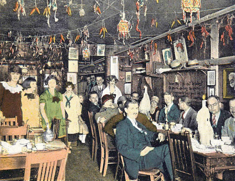 Tea Rooms On A Pre War