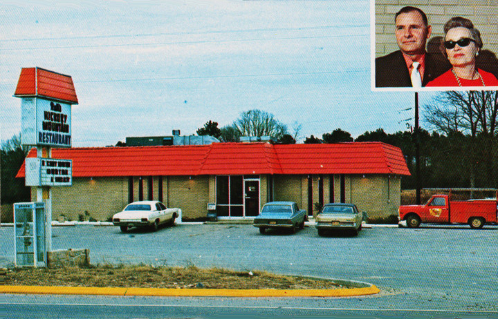 Miss Hulling's Favorite Recipes - St. Louis restaurant 1969