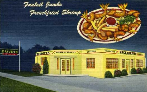 shrimpBurdick'sDrive-InSt.Petes1952