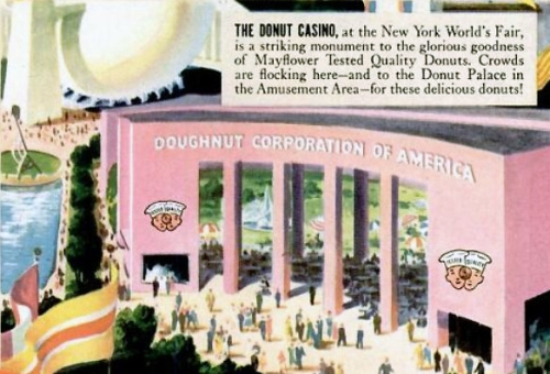 Time to sell the doughnuts"