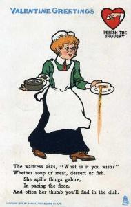 waitressspilling