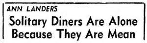 lonediner1962