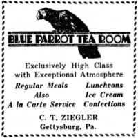 Famous in its day: the Blue Parrot Tea Room