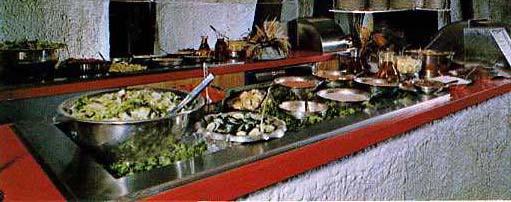 salad bars   Restaurant-ing through history