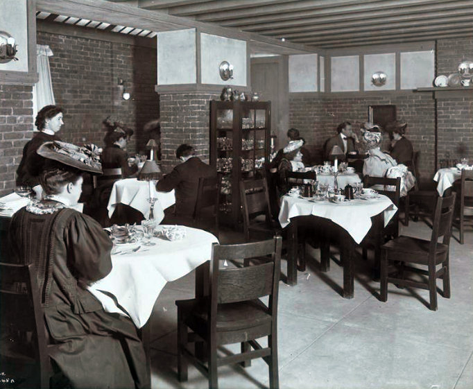 Tea Rooms Restaurant Ing Through History