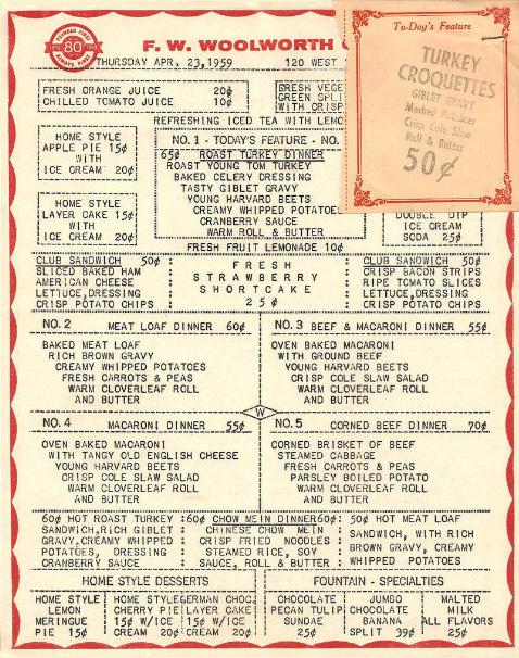 Kresge's | Restaurant-ing through history